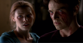 "True Blood Season 6 ""The Sun"" - Bill Compton & Jessica Hamby"