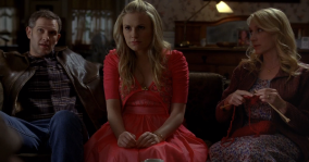 "True Blood Season 5 ""Save Yourself"" - Corbett, Michelle & Sookie Stackhouse"