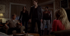 "True Blood Season 5 ""Save Yourself"" - Jason, Nora, Eric, Tara & Sookie"