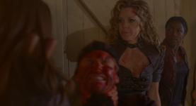 True Blood Season 6 Who Are You Really - Nora, Jason Pam & Tara
