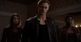 "True Blood Season 5 ""Save Yourself"" - Eric Northman, Nora Gainsborough & Tara Thornton"
