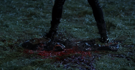 "True Blood Season 5 ""Save Yourself"" - Dead Russell Edgington"