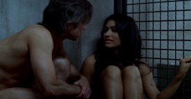 "True Blood Season 5 ""Save Yourself"" - Luna Garza & Sam Merlotte"