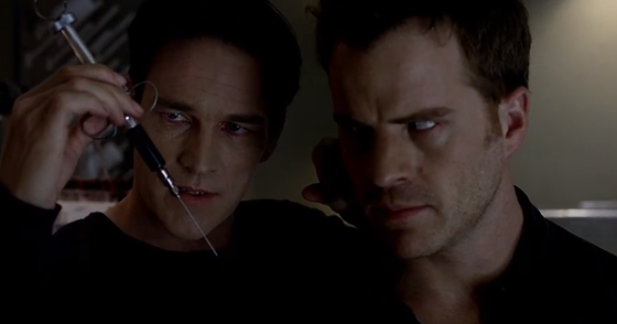 "True Blood Season 6 ""F*** the Pain Away"" - Bill Compton & Ben Flynn aka Warlow"