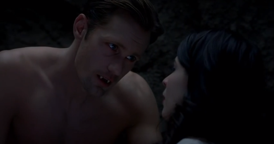 "True Blood Season 6 ""At Last"" - Eric Northman & Willa Burrell"