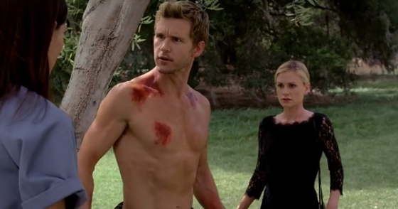 "True Blood Season 6 ""Radioactive"" - Sookie Stackhouse, Jason Stackhouse & Violet"